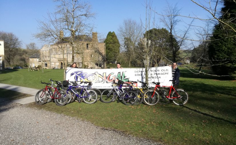 10 Bikes for Teachers in Malawi, with local charity Hooke Court in Malawi