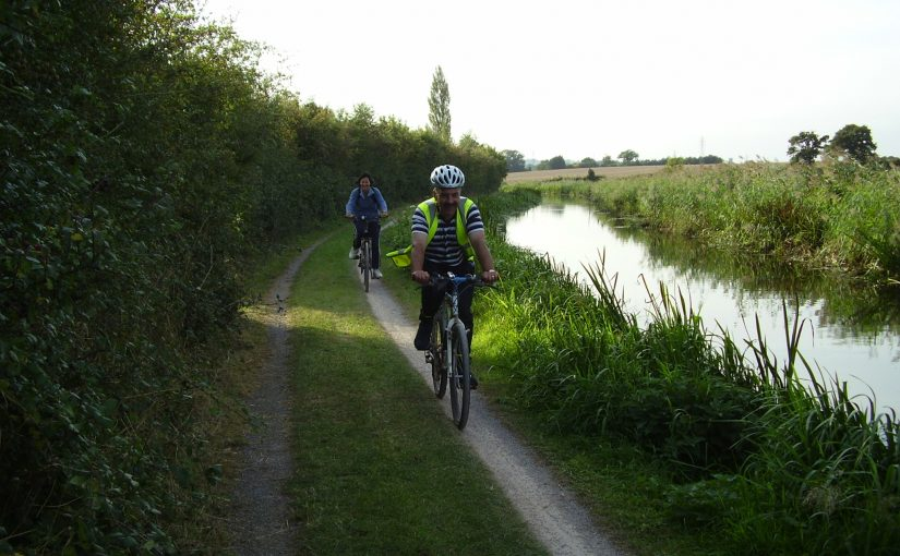 Tow path ride
